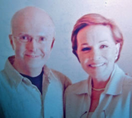 Edward Seckerson with Julie Andrews