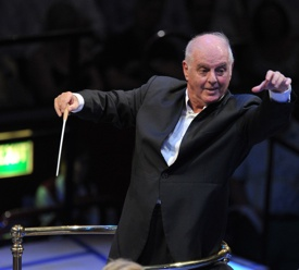 Daniel Barenboim conducts the Staatskapelle Berlin in Wagner's Das Rheingold at the BBC Proms