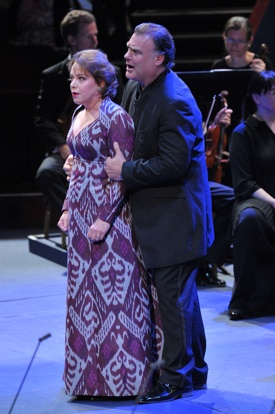 BBC Prom 15 Nina Stemme and Bryn Terfel in Die Walküre