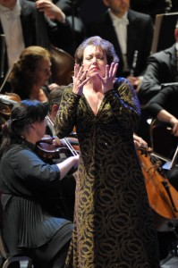 Nina Stemme as Brünnhilde in Götterdämmerung at the BBC Proms