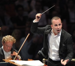 Yannick Nézet-Séguin conducts the Rotterdam Philharmonic Orchestra at the BBC Proms 2013