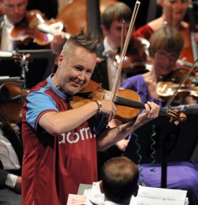 Nigel Kennedy at the Last Night of the Proms