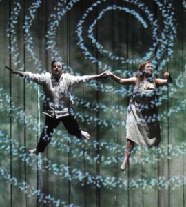 ENO Magic Flute with Ben Johnson and Devon Guthrie photo by Robbie Jack