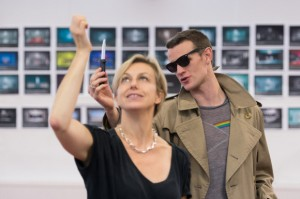 choreographer Lynne Page with Matt Smith by Manuel Harlan