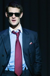 Matt Smith as Patrick Bateman photo Manuel Harlan